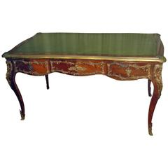 19th Century Louis XV Style Fruitwood Desk