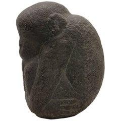 "John Flannagan ""Chimpanzee"" Sculpture"