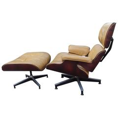 Herman Miller Eames Chair and Ottoman Number 670 and 671