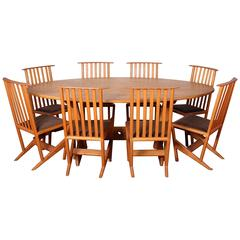 Studio Craft Dining Set by Derek Hennigar
