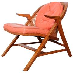 A-Frame Lounge Chair by Edward Wormley for Dunbar