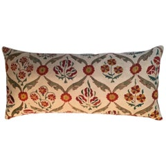 Large Vintage Suzani Pillow