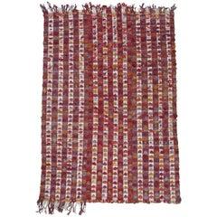 Pardah 'Curtain' Rug with Poms