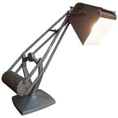 1930 Vintage Retro Hostman Industrial Adjustable Counter Balance Lamp