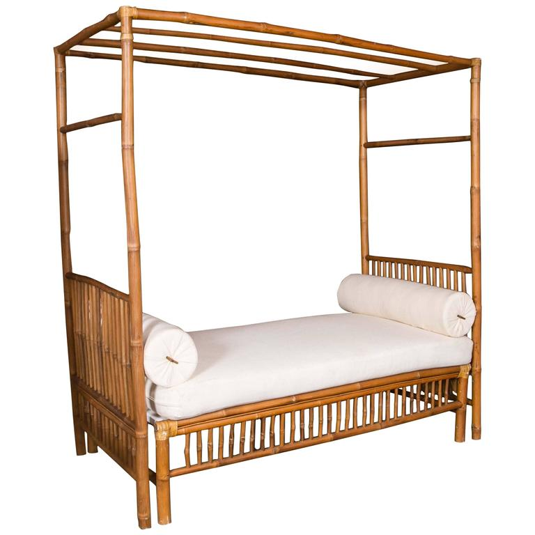 bamboo daybed at 1stdibs. Black Bedroom Furniture Sets. Home Design Ideas