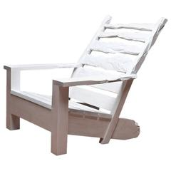 White Washed Maple Sunday Chair