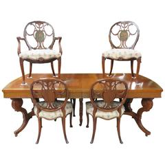 Irwin Centennial Adams Style Table and Six Chairs