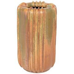Large Arne Bang Stoneware Vase, 1940s