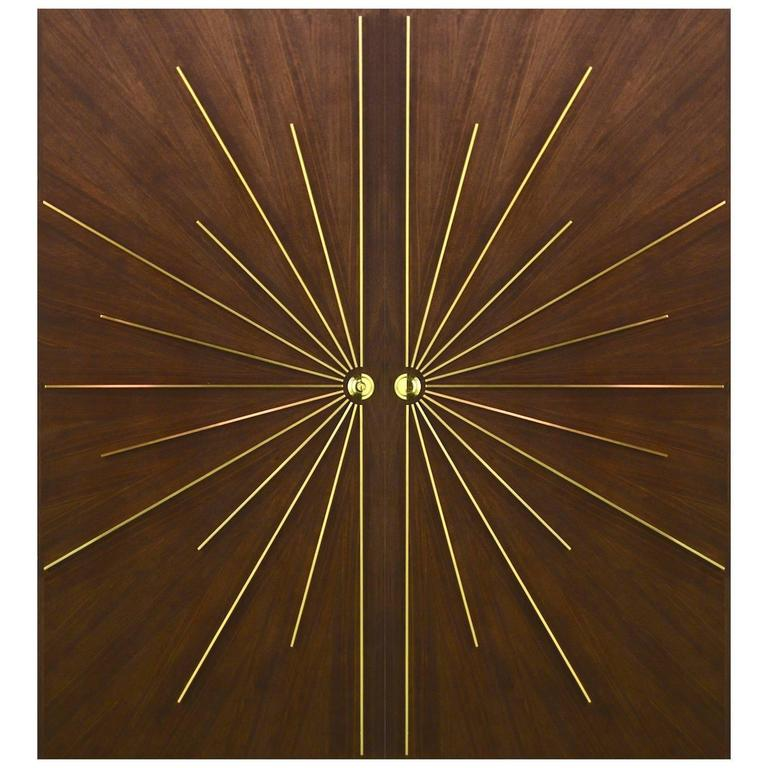 Ray Burst Double Entry Door in Any Size or Specification For Sale at ...