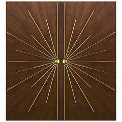 Ray Burst Double Entry Door in Any Size or Specification