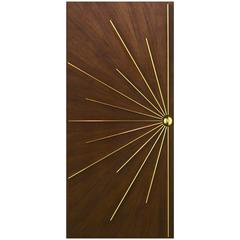 Ray Burst Single Entry Door