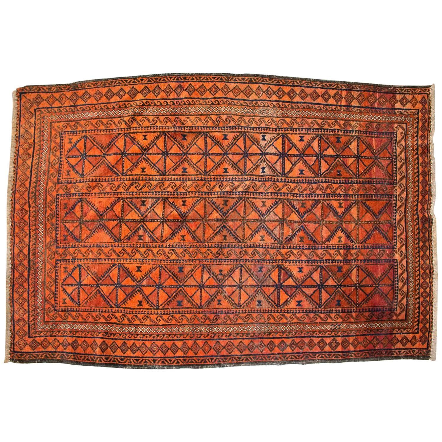 Warm baluch rug from eastern persia for sale at 1stdibs for Warm rugs
