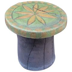 Bay Area Artist Stan Bitters Stool #2