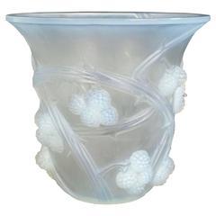 René Lalique Opalescent Mures Vase