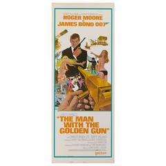 """Man with the Golden Gun"" Orginal US Movie Poster"