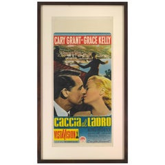 """""""to Catch a Thief / Caccia Al Ladro"""" Movie Poster"""