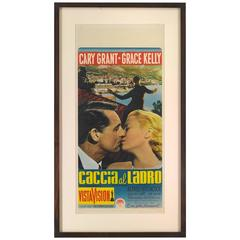 """to Catch a Thief / Caccia Al Ladro"" Movie Poster"