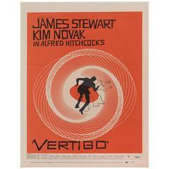 'Vertigo' Original US Movie Poster