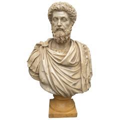 Roman Bust of Marcus Aurelius