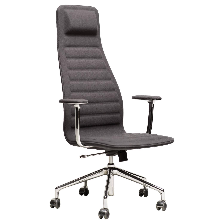 high lotus office chair designed by jasper morrison for sale at 1stdibs. Black Bedroom Furniture Sets. Home Design Ideas