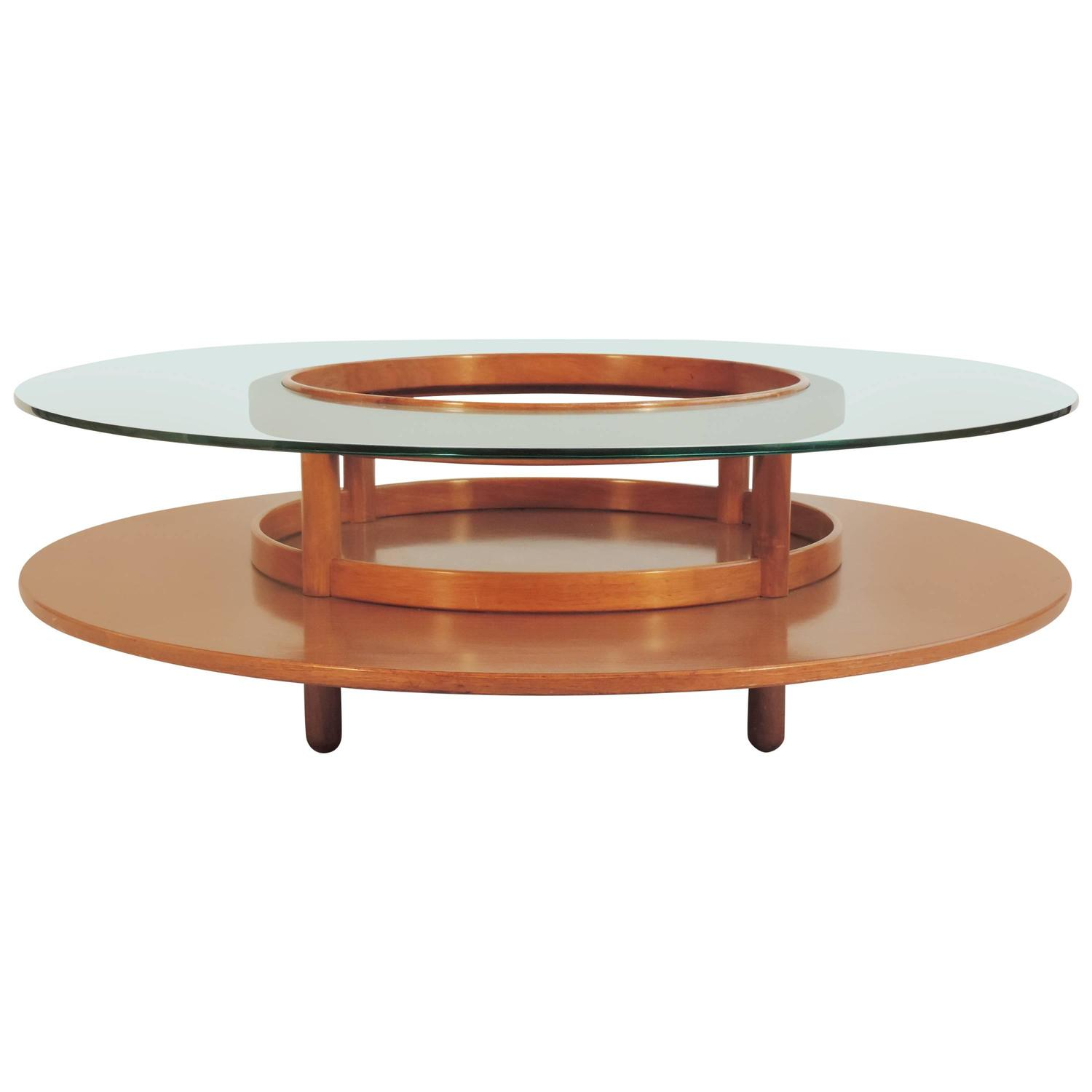 Spectacular Gianfranco Frattini Coffee Table For Cassina At 1stdibs