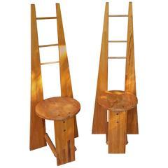 Alessandro Mendini Prototype Ollo Chair For Alchimia 1988
