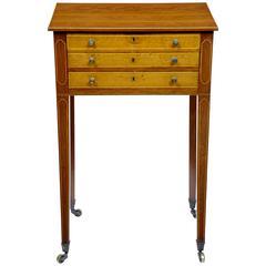 Early 19th Century Mahogany Work Table
