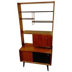 Teak Display Shelves and Room Divider