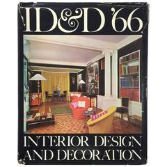 """ID&D 66: Interior Design & Decoration –Jacqueline Inchbald"" Book, 1965"