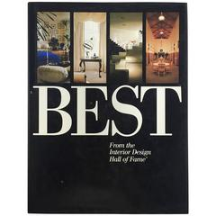 """""""BEST From the Interior Design Hall of Fame"""", Book, 1992"""