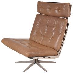 """Caravelle"" Lounge Chair by Paul Leidersdorff for Cado, Denmark, circa 1960"