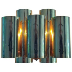 Mid century Brass Sconce by Danish Svend Aage Holm Sørensen