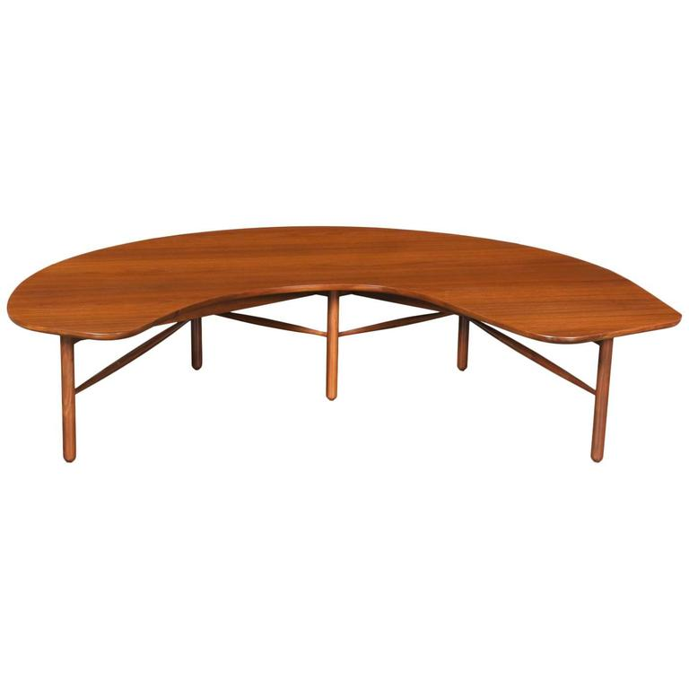 Greta M. Grossman U201cCrescent Moonu201d Coffee Table For Glenn Of California For  Sale