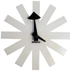 George Nelson Asterisk or Snowflake Cordless Wall Clock Howard Miller