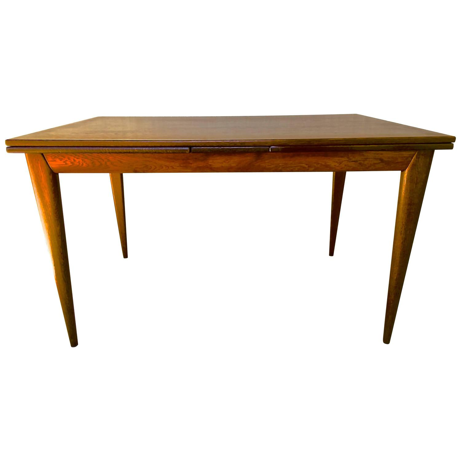 Niels Otto M Ller Mid Century Danish Extendable Dining