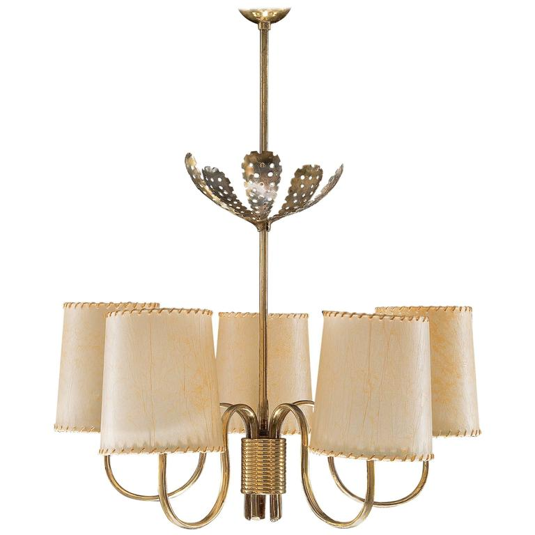 Chandelier by Paavo Tynell for Taito / 2 available