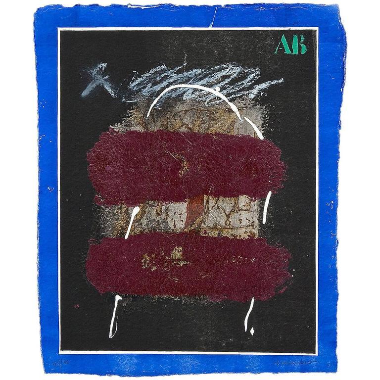 James Coignard Carborundum Etching, Signed