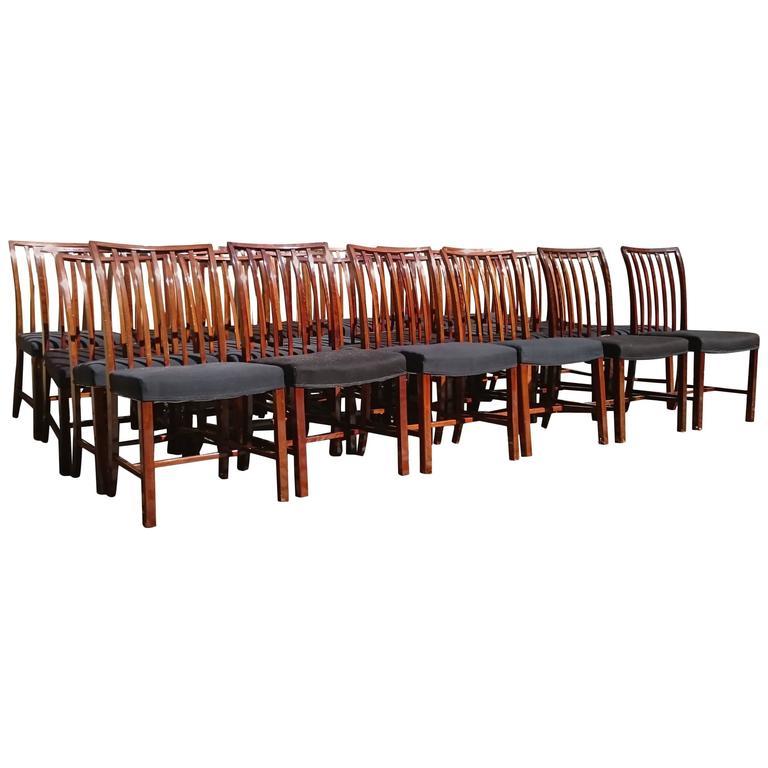 24 Swedish Dining Chairs