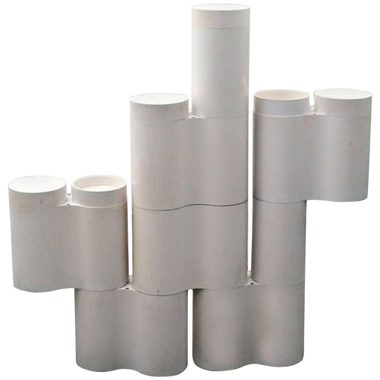 Lustre Kartell Suspension Paper Lustre X H Cm Blanc Cble