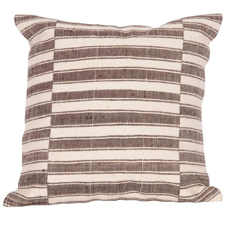 Pillow Made Out of an Anatolian Turkish, Mid-20th Century Kilim at 1stdibs