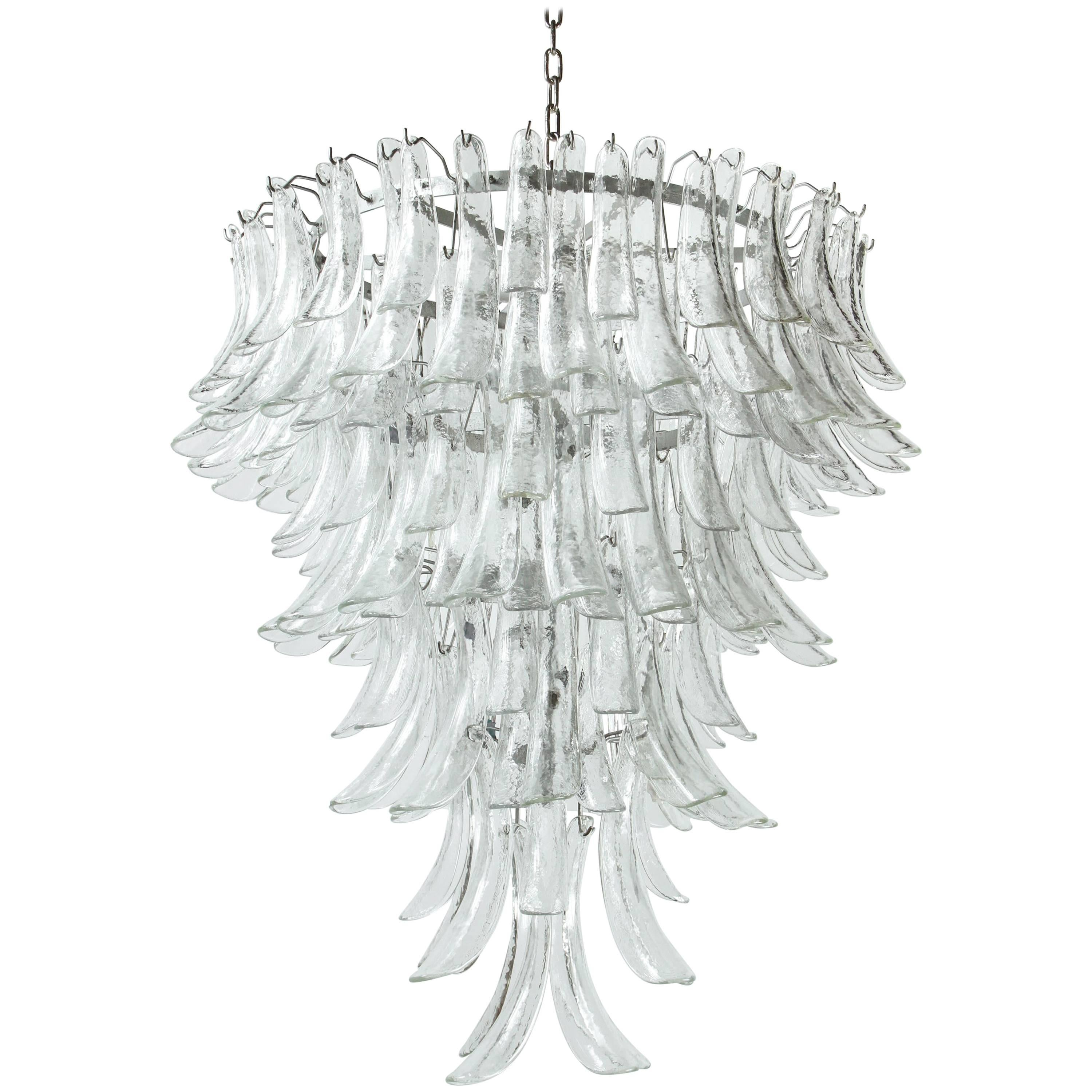 Murano Barovier and Toso Chandelier