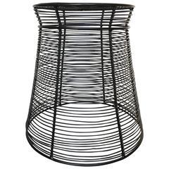 Artecnica TaTu Stool, Steel Wire, Powder Coated, Black, Metal, South Africa
