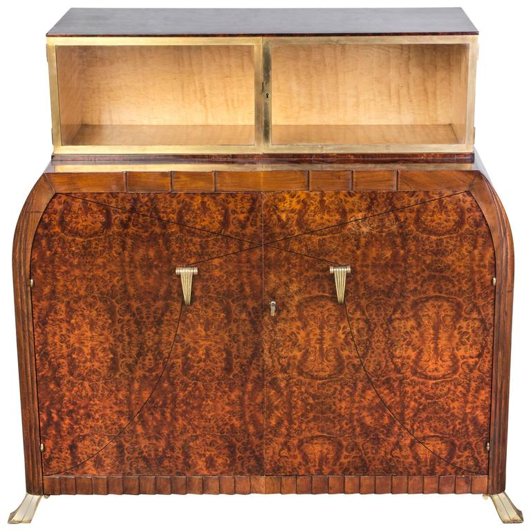 Exquisite Art Deco Sideboard Dresser by Roger Bal
