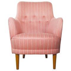 Carl Malmsten Samsas Easy Chair by O.H. Sjogren