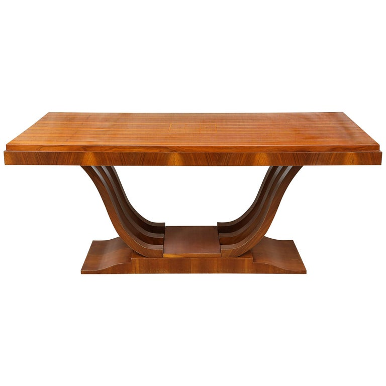 Art Deco Dining Room Table For Sale