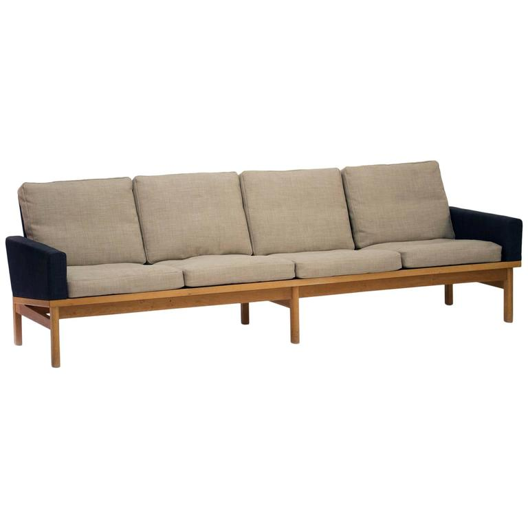 Four Seat Sofa by Svend Ellekær at 1stdibs