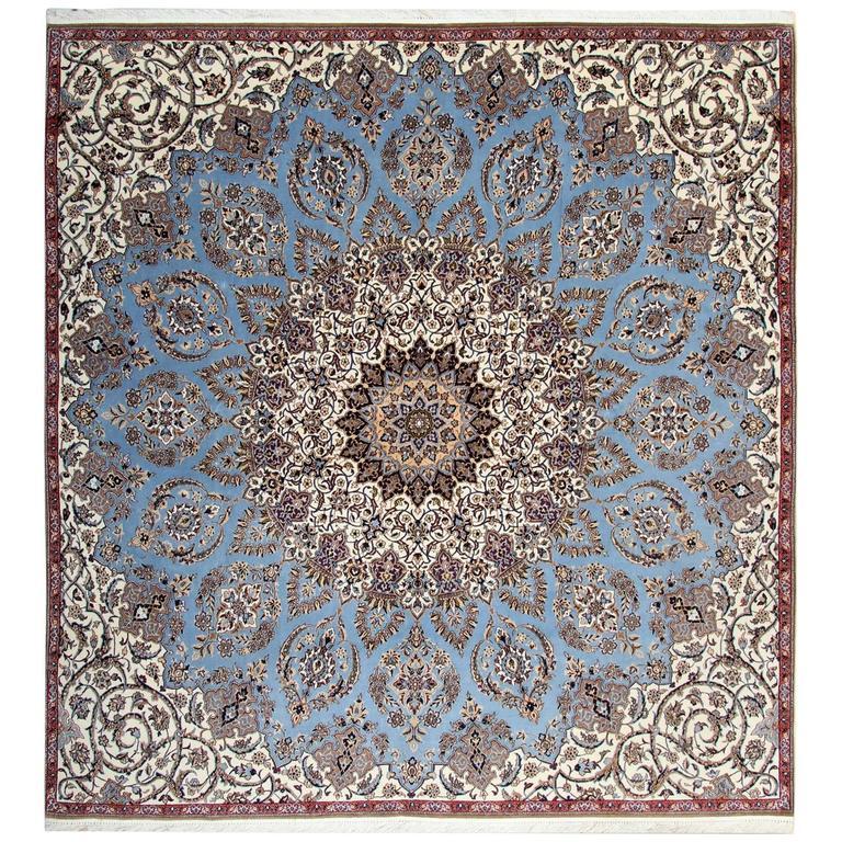 Fine Persian Rugs, Carpet from Nain