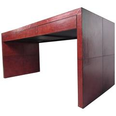 Modern Parsons Style Writing Desk