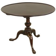 Georgian Mahogany Tilt-Top Table, Birdcage Base