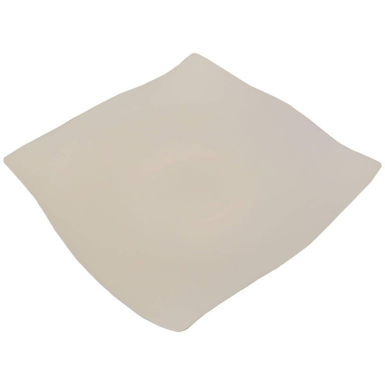 Handcrafted Extra Large Square Platter, Italy, Contemporary